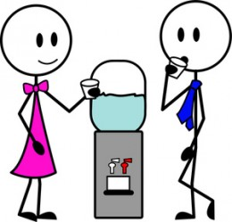 Small Talk Water cooler